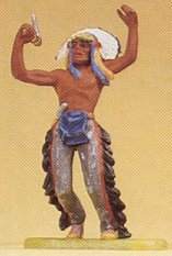 Preiser 54605 - Indian chief dancing