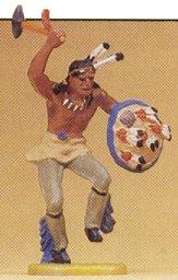 Preiser 54607 - Indian warrior-war dance