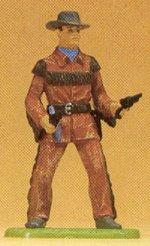 Preiser 54802 - Cowboy w/2 guns