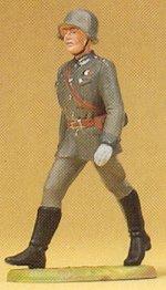 Preiser 56051 - Officer marching 1:25