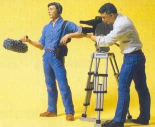 Preiser 57104 - Film crew              2/