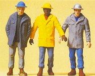 Preiser 63051 - Men In Hardhats 3/