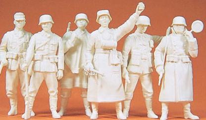 Preiser 64003 - German Guard Unpainted 6/
