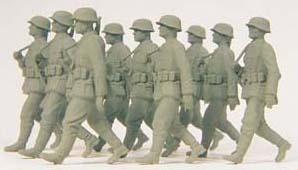 Preiser 64009 - Grenadiers mrchng Unp 9/
