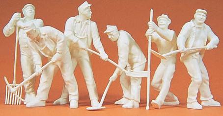 Preiser 64010 - Workers 1939-45 Unpainted