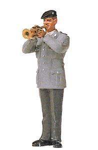 Preiser 64358 - Musician w/Trumpet Unpnt