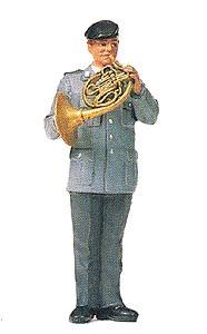 Preiser 64369 - Musician w/Frnch Hrn Unpn