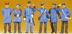 Preiser 65302 - 1900s Bav rr personnel