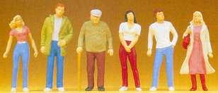 Preiser 68203 - People standing 1:50