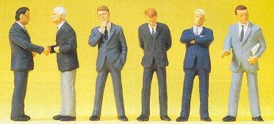 Preiser 68213 - Business men in suit 1:50