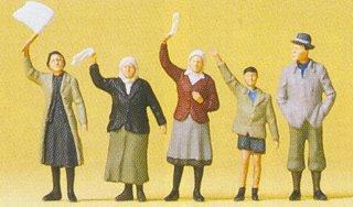 Preiser 72413 - Civilians waving 1:72