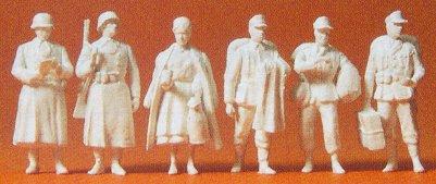 Preiser 72521 - German Army Figs Unpntd