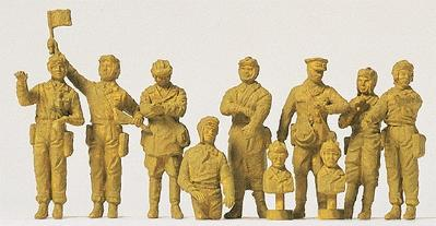 Preiser 72526 - Tank Crew USSR 1942 10/