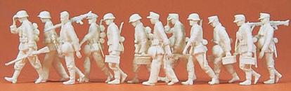 Preiser 72527 - Advancing Grenadiers 12/