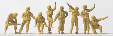 Preiser 72530 - US Army Tnk Crw - Unpt 8/