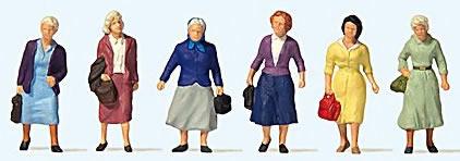Preiser 73012 - Female Commuters