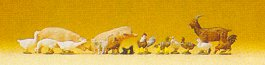 Preiser 79093 - Set of small animals 1:160