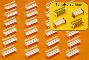 Preiser 79565 - Park benches