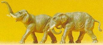 Preiser 79710 - Elephants
