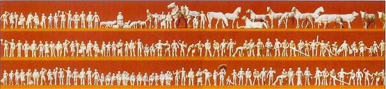 Preiser 88500 - Figures unpainted    160/