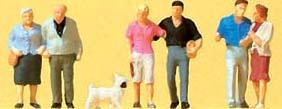 Preiser 88555 - Couples w/Dog 6/