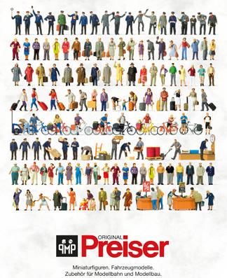 Preiser 93059 - 2017 Preiser Catalog