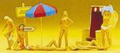 Nude sun bathers       6/
