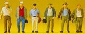 Male commuters