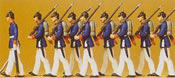 Prussian infantry parade