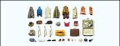 Clothes, Safety Vests, Bags, Etc