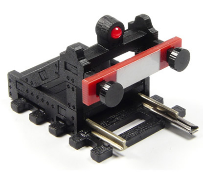 Proses BF-OU-01 - O Scale Buffer Stop DC, DCC (US Type)