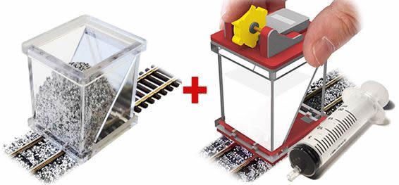 Proses BS-FIX-02 - COMBO HO/OO Ballast Spreader & Gluer
