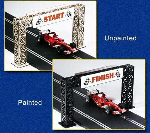 Proses LS-301 - Bridge Gantry for Start Finish and Advertisements
