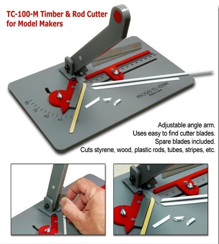 Proses TC-100-M - Timber & Rod Cutter