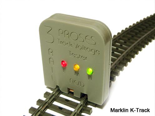 Proses VT-002 - Marklin Voltage Track Tester