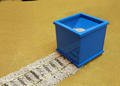 O Scale Ballast Spreader 2-Rail