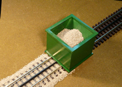 O Scale Ballast Spreader 3-Rail