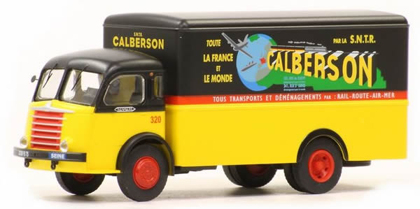 REE Modeles CB-053 - French Panhard Truck Movic Fourgon - Cabine Moderne CALBERSON