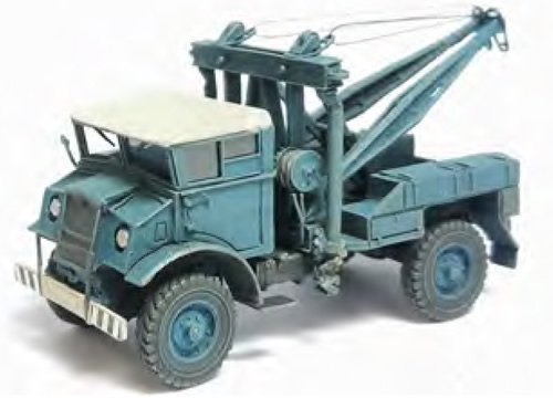 REE Modeles CB-055 - Tow truck CHEVROLET 3T (Whiet and Blue)