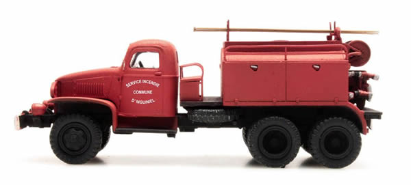 REE Modeles CB-075 - GMC C.C.F.L Tank Truck for Forest Fire Froger Steel Cabin INGUINIEL