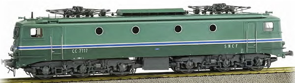 REE Modeles JM003S - French Electric Locomotive Class CC-7117 of the SNCF RG Avignon - DCC Sound