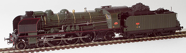 REE Modeles MB-030S - French Steam Locomotive 3-231 G 117 of the SNCF Depot TOURS (DCC Sound Decoder & Smoke)