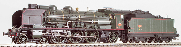 REE Modeles MB-046S - French Steam Locomotive 2-231 G 233 of the SNCF Depot, BORDEAUX (DCC Sound Decoder)