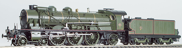 REE Modeles MB-048 - French Steam Locomotive 2-231 K 16 of the SNCF Depot, Analogique