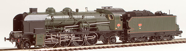 REE Modeles MB-052 - French Steam Locomotive Class 141 of the SNCF - Depot ALES