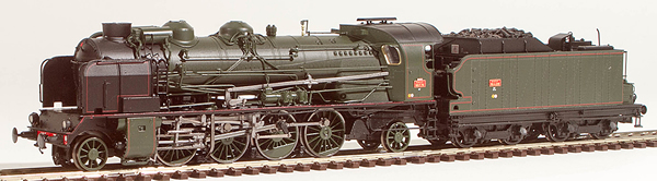 REE Modeles MB-053S - French Steam Locomotive Class 141 of the SNCF - Depot ANNEMASSE (DCC Sound Decoder)