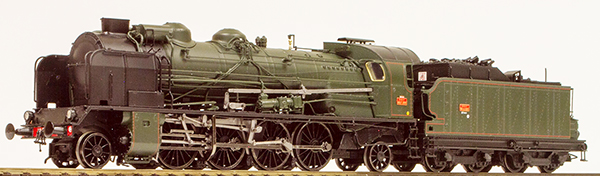 REE Modeles MB-054S - French Steam Locomotive Class 141 of the SNCF - Depot MONTLUCON (DCC Sound Decoder)