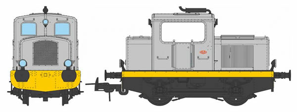 REE Modeles MB-079S - French Diesel Locomotive M015-G-01 Origin MOYSE (DCC Sound Decoder)