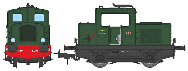 REE Modeles MB-090 - French Diesel Locomotive MOYSE 32 TDE of the SNCF