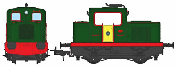 REE Modeles MB-091S - French Diesel Locomotive MOYSE 32 TDE (DCC Sound Decoder)